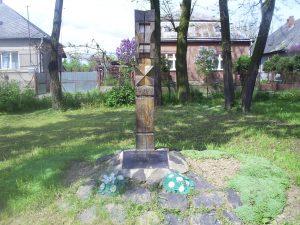 3. ábra. A millennium tiszteletére állított kopjafa