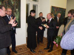A jubileumi tárlaton átadták az első Révész Imre-díjakat
