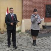 Seszták Miklós nemzeti fejlesztési miniszter mond ünnepi beszédet