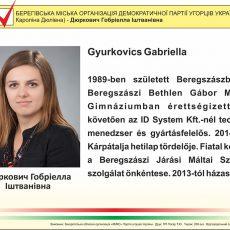 Gyurkovics Gabriella