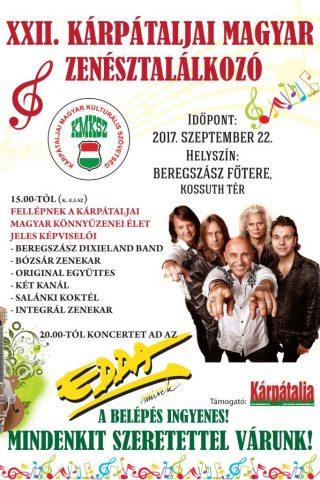 XXII. Kárpátaljai Magyar Zenésztalálkozó
